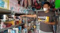 Fernando Yorizki Abmi, pemilik usaha toko mainan asal Karangpakis, Kabuh, Jombang.Fa'iz