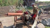 Maling Gentayangan di Jombang, Sasar Puluhan Roda Gerobak Pengrajin Bata