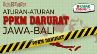 Aturan PPKM Darurat Jawa Bali 3-20 Juli 2021