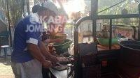 Nasi pecel khas Ngawi di flyover Peterongan, Jombang. KabarJombang.com/M Faiz H/