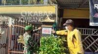 Rumah Pasien Isolasi Mandiri di Kabuh Jombang Ditandai Stiker