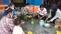 Covid-19, Jombang, Berita Jombang, PPKM, Mahasiswi Jombang, Kesehatan, hand sanitizer