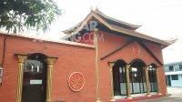 Mushola di Jarak Kulon, Kecamatan Jogoroto, Kabupaten Jombang memiliki arsitektur Tionghoa. KabarJombang.com/Ziyadatul Imaniyah/