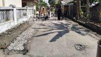 Inspektorat Periksa Dugaan Korupsi Proyek Perbaikan Jalan Desa Pagerwojo, Jombang