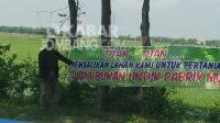 Pabrik Berdiri di Atas Lahan Hijau, Warga Piak Jombang Protes