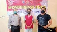 Pegawai UPT PU Bina Marga Mojokerto Curi Besi Guardrail Ring Road Mojoagung, Jombang