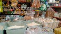 Sejumlah harga kebutuhan pokok di pasar Peterongan Jombang mengalami kenaikan, Rabu (1/9/2021). KabarJombang.com/M Fa'iz H/