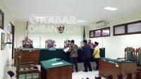 Proses sidang gugatan dugaan wanprestasi putri kandung Bupati Jombang (Ning Ema) di Pengadilan Negeri Jombang, Kamis (2/9/2021). KabarJombang.com/Diana Kusuma/