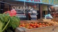 Harga bahan pokok di pasar Legi Jombang, Selasa (7/9/2021). KabarJombang.com/M Faiz H/