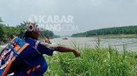 Tenggelam, Sungai Brantas, Berita Jombang, BPBD Jombang,Kabar Jombang,