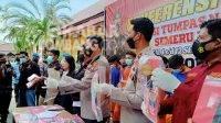 Polres Jombang 'Panen' Tangkapan Narkoba, 12 Hari Bekuk 26 Tersangka