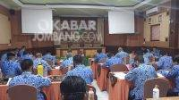 Seleksi terbuka pengisian jabatan pimpinan tinggi pratama pemkab Jombang. KabarJombang.com/Daniel Eko/