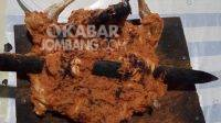 Ayam panggang di Banjardowo, Kabupaten Jombang. KabarJombang.com/M Faiz H/