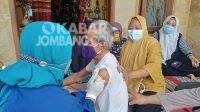 Capaian Vaksinasi Lansia di Kabupaten Jombang Masih Kurang