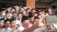 Ketika Nadiem Makarim Ajak Selfi Santri Ponpes Tebuireng Jombang