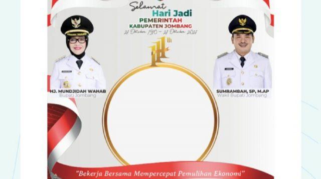 Peringatan hari jadi yang ke 111 tahun Pemerintah Kabupaten Jombang.