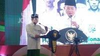 Ketua Umum PPP, Suharso Monoarfa saat menghadiri peringatan Maulid Nabi di Pondok Pesantren Bahrul Ulum Tambakberas Jombang, Senin (18/10/2021). KabarJombang.com/Daniel Eko/