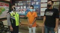 Pelaku pencurian HP warga Kediri asal Jombang diamankan Polsek Pagu.