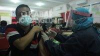 Vaksinasi covid-19 di Kabupaten Jombang. KabarJombang.com/Daniel Eko/
